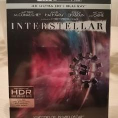 Interstellar 4K UHD sigilat cu subtitrare în romana, BLU RAY