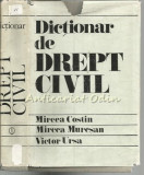 Dictionar De Drept Civil - Mircea N. Costin, Calin M. Costin