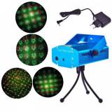 Laser Proiector Jocuri de Lumini Rosu Verde YXA7