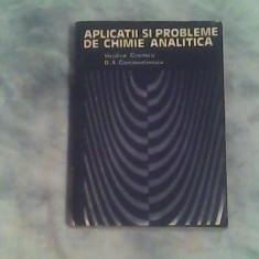 Aplicatii si probleme de chimie analitica-V.Croitoru,D.A.Constantinescu