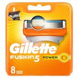 Set 8 rezerve pentru aparat de ras Gillette Fusion Power
