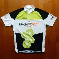 Tricou ciclism Mallorca Sportiv; marime L, vezi dimensiuni; impecabil, ca nou