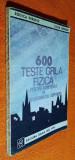 600 teste grila fizica admiterea in invatamintul superior - Perjoiu, Grindei