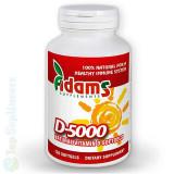 Cumpara ieftin Vitamina D-5000 softgel 120cps. (imunitate, oase, muschi, nervi) Adams