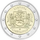 Lituania 2 Euro 2020 (Aukštaitija) CLT8 , KM-New UNC !!!, Europa