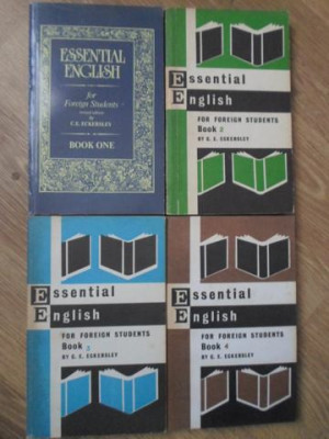 ESSENTIAL ENGLISH FOR FOREIGN STUDENTS VOL.1-4-C.E. ECKERSLEY foto