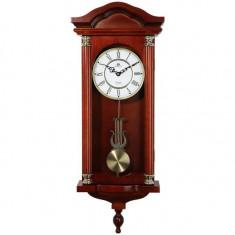 Ceas cu pendul Merion cu melodie Westminster, lemn masiv 6658-0 stejar
