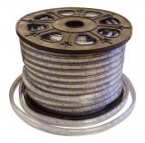 Banda LED 220V 60LED 14.4W Rosu IP68 Tip LED 50M/Rola EL0025988