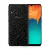 Cumpara ieftin Skin Samsung Galaxy A20 (set 2 folii) NEGRU GALACTIC