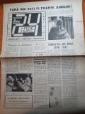 Ziarul 24 ore din 18 ianuarie 1990 - ceausescu format la scoala KGB