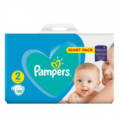 Scutece PAMPERS New Baby 2 Giant Pack 100 buc