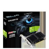 Placa video gigabyte nvidia geforce gt 710 gt710 core clock 954 mhz memory clock 5010