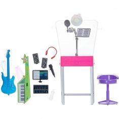 Set Barbie - Studio muzical cu accesorii