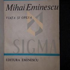 MIHAI EMINESCU VIATA SI OPERA - D . MURARASU