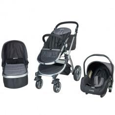 Carucior 3 in 1 Veneto gri Kidscare for Your BabyKids