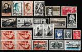 Franta, lot timbre 1939-1965, cota 28 euro, MNH, Nestampilat