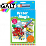 Water Magic: Carte de colorat Vehicule, Galt