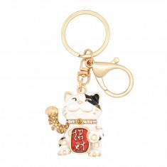 Amuleta – Breloc cu Pisica Maneki Neko