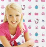 Rola tapet 10 x 0,52m Hello Kitty Fashion