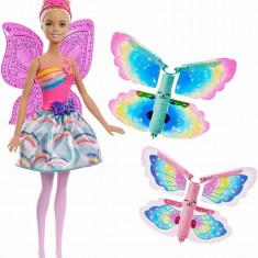 Cumpara ieftin Papusa Barbie Zana Zburatoare