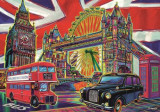 Puzzle Trefl - Colours of London 1.000 piese (10525)