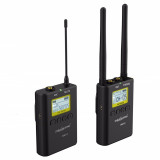 KIT Microfon Wireless WM9 pentru camere video
