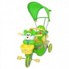 Tricicleta Pentru Copii Iepuras - Verde
