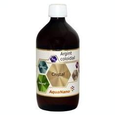 Argint Coloidal AquaNano Cristal 480ml Aghoras Cod: 30423