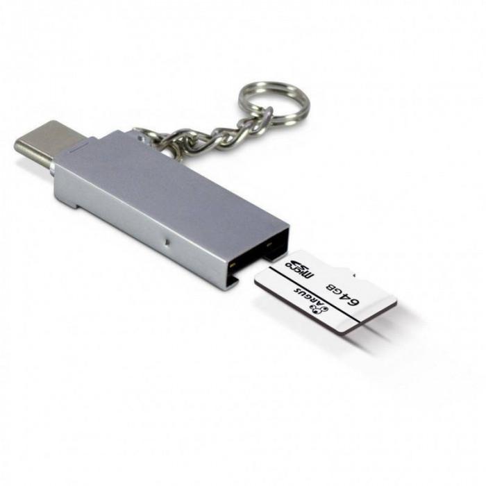 Card reader OTG Inter-Tech USB Type-C/USB Type-A