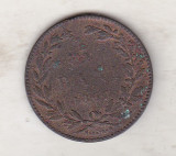 bnk mnd Romania 5 bani 1867 watt