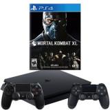 Consola SONY PlayStation 4 Slim 500 GB + Extracontroller + joc MORTAL KOMBAT XL