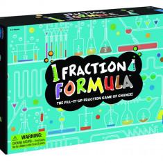Joc de fractii, 52 carduri, 52 piese, 20 cartonase de notare, 2-4 jucatori