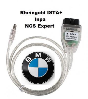 Tester diagnoza BMW INPA K+DCAN, Inpa 5.06 , Rheingold 4.01 + documentatie BMW foto