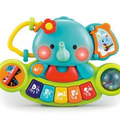 Pian muzical Elefant Hola Toys