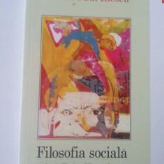 Filosofia Socială A Lui F. A Hayek