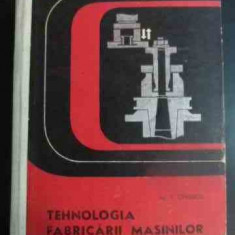 Tehnologia Fabricarii Masinilor - T. Canescu ,546594