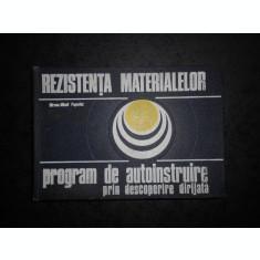 MIRCEA MIHAIL POPOVICI - REZISTENTA MATERIALELOR (1977, editie cartonata)