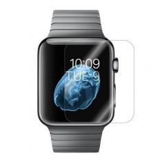 Folie de protectie iUni pentru Smartwatch Apple Watch 38mm Plastic Transparent