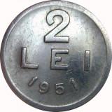 Romania, 2 lei 1951 * cod 13