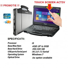 Panasonic CF53 Laptop Militar Toughbook I5 Cf-53 Touchscreen ideal Diagnoza Auto