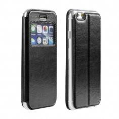 Husa SAMSUNG Galaxy Note 8 - Magnet Window TSS, Negru