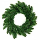 Coroana decorativa de Craciun Holly Verde, Ø50 cm