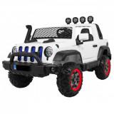 Masinuta electrica Jeep Allroad 4×4, accelerare progresiva, alb