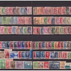 Norvegia - Lot timbre vechi, stampilate