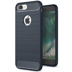 Husa APPLE iPhone 7 Plus \ 8 Plus - Carbon (Bleumarin) FORCELL