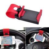 Suport telefon pentru auto prindere pe volan