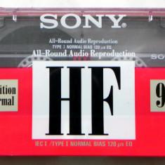 Caseta audio SONY HF normal bias 90min sigilate