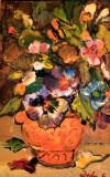 Pictura Tablou  Victoria Cornelia Dedu ,,Vas cu flori''