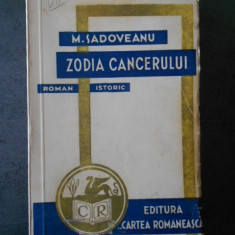 M. SADOVEANU - ZODIA CANCERULUI {1941}