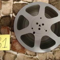 31.Banda Magnetofon REVOX rola policarb.26cm-Black (Akai,Teac,Tascam,Agfa,BASF)